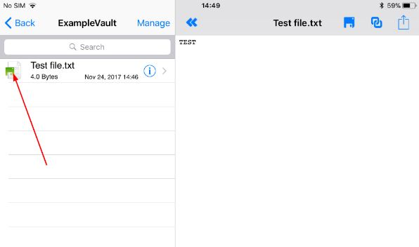 refreshing a locally saved file in ios \u2013 nomadesk