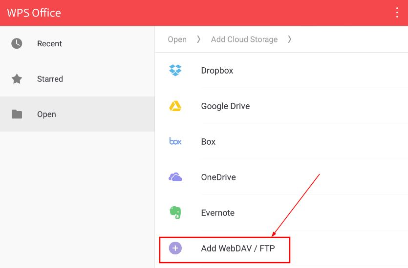 Edit and save Office files stored on Nomadesk (Android